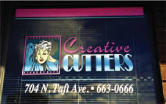 Logo Design and Window Painting & Lettering